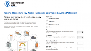 Washington Gas Online Home Energy Audit