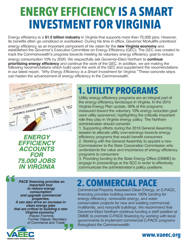 Reports and Research Archives - Virginia Energy Efficiency Council